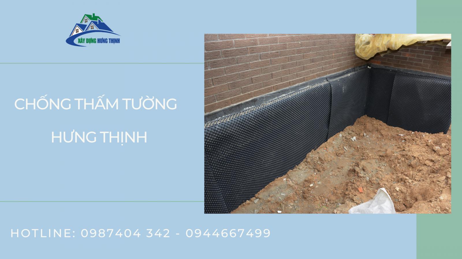 Xây dựng Hưng Thịnh chuyên cung cấp dịch vụ chống thấm tường chuyên nghiệp